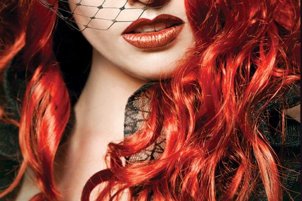 Burlesque Redhead